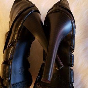 Mossimo Supply Co. Shoes - Mossimo Peep Toe Booties